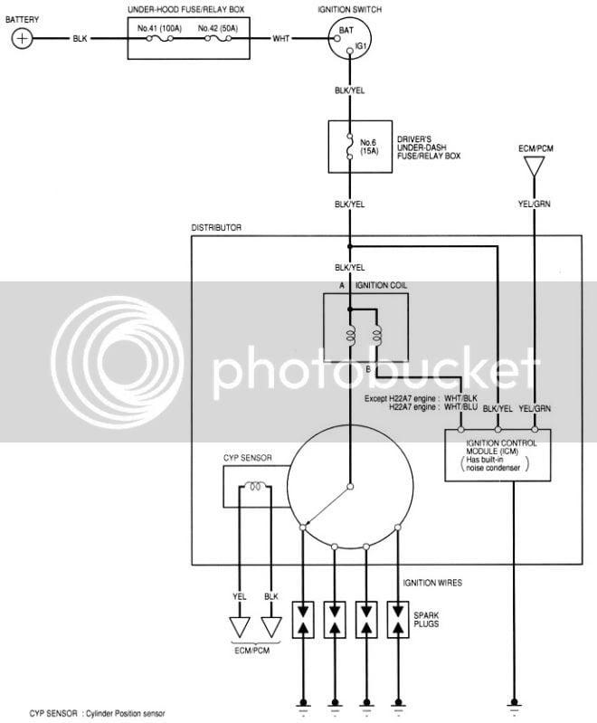 H22a Wiring Diagram