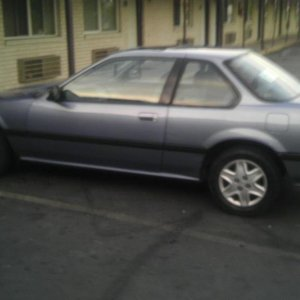 The Picture I First saw before purchasing 1989 Honda Prelude 2.0SI 5 speed B20A5 For $1,500